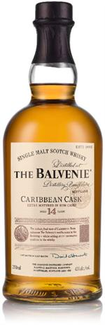 Balvenie Scotch 14 Year Rum Wood